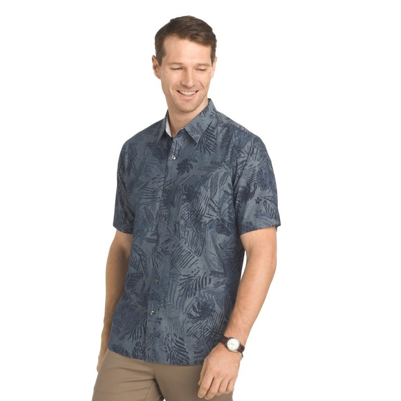 66bb83a85b6 Van Heusen no tuck tropical shirt